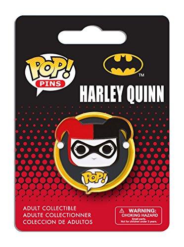 Funko - Pins DC Heroes - Harley Quinn Pop 3cm - 0849803072827