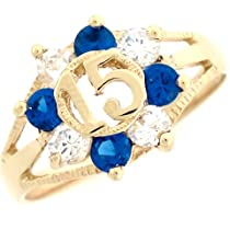 Furious Jewelry 925 Sterling Silver King Royal Family Blue CZ Band Ring Size 6 7 8