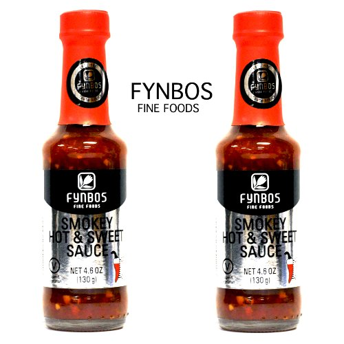 Fynbos Smokey Hot & Sweet Sauce 2 Pack (South African Hot Sauce compare prices)