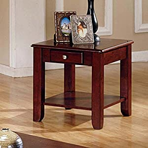 Logan Cherry End Table By Lauren Wells Kitchen Dining