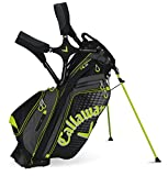 Callaway Hyperlite 5 Stand Bag - Black Charcoal Yellow