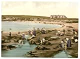 Victorian View of Bundoran, County Donegal, Ireland, Large A3 size 41 by 28 cm Canvas Textured Fine Art Paper Photo Print