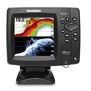 Humminbird 408120-1 Fishfinder 597ci HD DI Combo (Discontinued by Manufacturer) by Humminbird