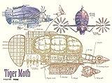 150ピース ジグソーパズル 天空の城ラピュタ タイガーモス【まめパズル】