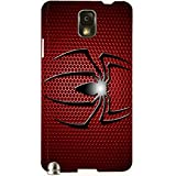 Brilliant Multicolor Printed Protective REBEL Mobile Back Cover For Samsung Galaxy Note 3 / N9000 / N9002 D.No.N-T...