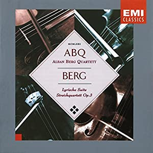 Berg: String Quartet, Lyric Suite