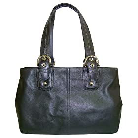 COACH SOHO LEATHER BUSINESS TOTE HANDBAG XL 13110