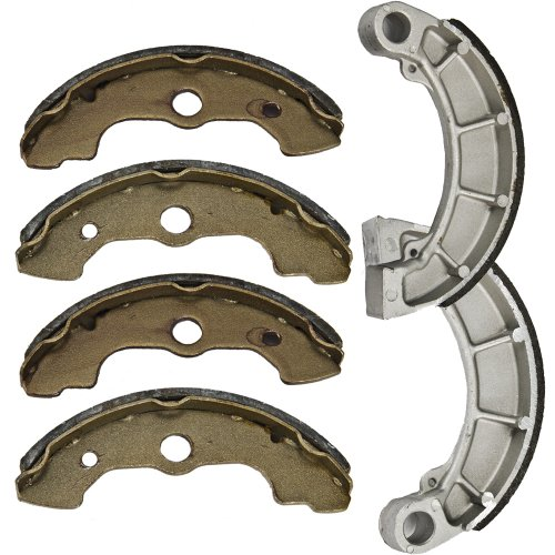 2000-2006 HONDA TRX 350 Fourtrax Rancher Front and Rear Brake Shoes (Honda Brake Parts compare prices)