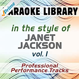 The Pleasure Principle (Full Vocal Version) [In the Style of Janet Jackson]
