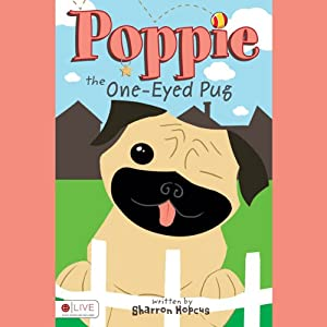 Poppie the One-Eyed Pug | [Sharron Hopcus]