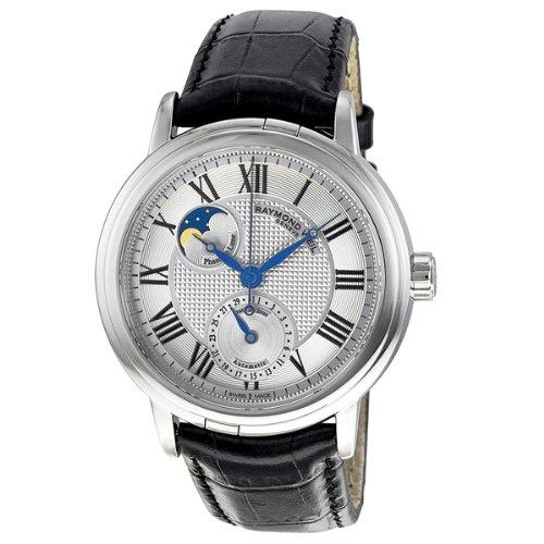 raymond-weil-homme-montre-2839-stc-00659-analogique-automatique-saphir-inrayable