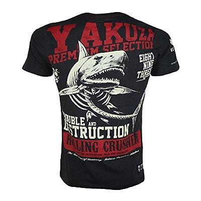 Yakuza Premium T-Shirt 1811 dunkelgrau