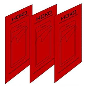 Desire 616 Screen protector, Scratch Guard, HOKO® (Pack of 3) Anti Fingerprint Anti Glare Matte Screen Protector Scratch Guard For HTC Desire 616
