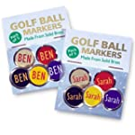 Personalised Golf Ball Markers