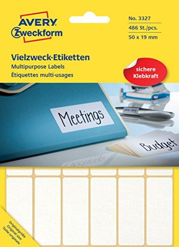 avery-zweckform-3327-vielzweck-etiketten-papier-matt-486-klebeetiketten-50-x-19-mm-27-blatt-weiss