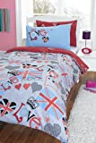 ROCK CHIC STYLE SINGLE DUVET COVER BED SET