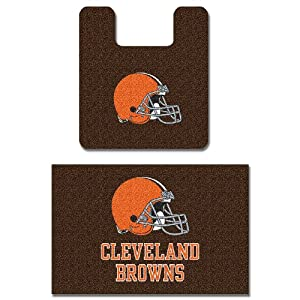 Cleveland Browns Two Piece Bath Rug Set by Northwest