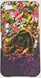 BLACK TIGER DESIGN ED HARDY STYLE TYPE HARD CASE BACK COVER FOR IPHONE 4 4S/FREE SCREEN PROTECTOR