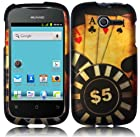Ace Poker Hard Case Cover Faceplate Protector for Huawei Ascend Y H866 / M866 / H866C Straight Talk with Free Gift Reliable Accessory Pen