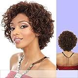 H. SHEA (Motown Tress) - Human Hair Full Wig in 1B by Oradell International Corporation