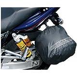 ラフアンドロード(ROUGH&ROAD) ポケッタブルヘルメットカバー BLACK RR9908BK