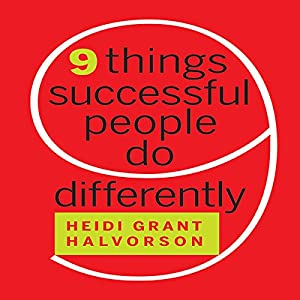 Nine Things Successful People Do Differently Audiobook