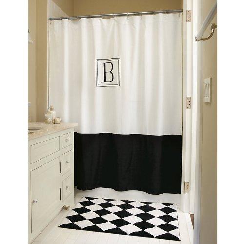 Ballard Designs Shower Curtain.Monogrammed Classic Shower Curtain Ballard Designs Review