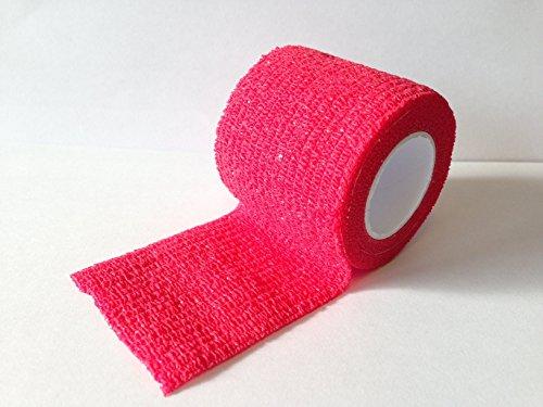 Yuzet-Rouge-Poigne-Grip-ruban-ruban-Friction-Grip-de-hockey-sur-glace