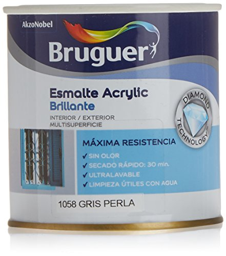 Bruguer-Smalto Acrilico Grigio Perla Bruguer 250ml