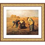 Easy Apply Wall Sticker Painting - The Gleaners, Jean Francois Millet