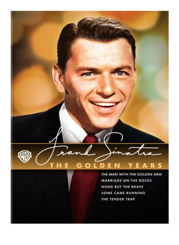 Cover art for  Frank Sinatra - The Golden Years Collection (Some Came Running / The Man with the Golden Arm / The Tender Trap / None but the Brave / Marriage on the Rocks)