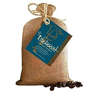 Lifeboost Premium Single Origin Organic Fair Trade Nicaragua Coffee Beans - 12 oz Bean Medium Roast