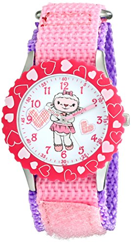 Disney Kids' W001931 Doc Mcstuffins Analog Display Analog Quartz Pink Watch