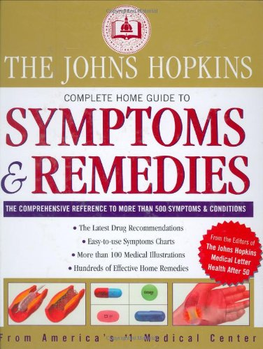 The Johns Hopkins Complete Home Guide To Symptoms & Remedies back-79616