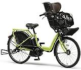 YAMAHA(ヤマハ) PAS Kiss チャイルドシート付き電動自転車 26インチ 2015年モデル [8.7Ahリチウムイオン電池、トリプルセンサーシステム、急速充電器付] クローバーグリーン PM26K