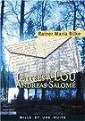 Lettres � Lou Andreas-Salom� par Rilke