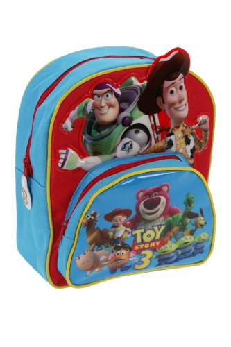 Trade Mark Collections Toy Story 3 Backpack with Front Pocket and Stand Up Characters