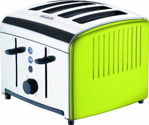 Breville VTT315 Lime Stainless Steel 4 Slice Toaster by Breville