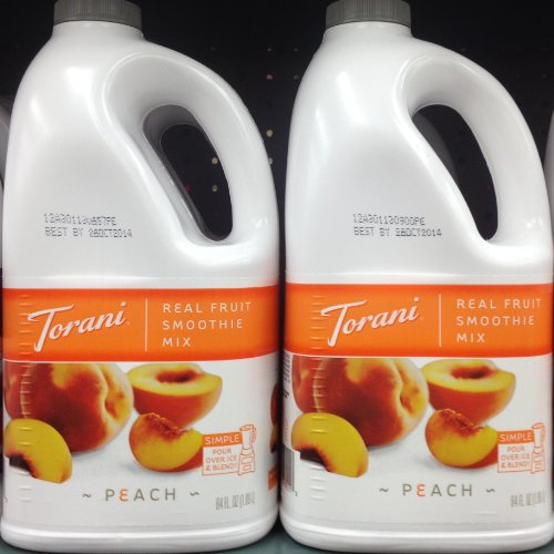 Torani Real Fruit Smoothie Mix Peach 64Oz (2 Pack) front-609203