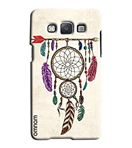 Omnam Leaves On Arrow Hanging Printed Designer Back Cover Case For Samsung Galaxy A5
