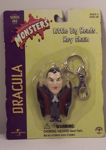 Buy Low Price Sideshow Universal Monsters Dracula Little Big Heads Keychain Figure (B003ILIONS)