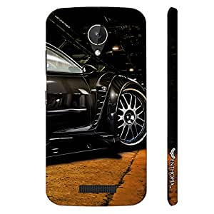 Micromax Canvas Spark Q380 Mean Machine designer mobile hard shell case by Enthopia