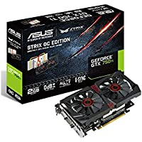 ASUS STRIX GeForce GTX 750TI Overclocked 2GB DVI-I Graphics Card