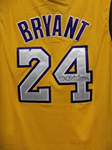 Los Angeles Lakers Kobe Bryant Autographed Hand Signed Adidas Replica Home Jersey by adidas