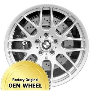 BMW M3 19X8 8 DOUBLE SPOKES Factory Oem Wheel Rim- CHROME – Remanufactured