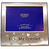 "' I Love My Grandad ' Photo Picture Frame Gift - 5 x 3.5""by SHUDEHILL"
