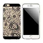 Doinshop New Useful Cute Nice Funny Transparent 0.3mm Soft TPU Back Cover Case For iPhone 6 Plus 5.5 Inch (black)