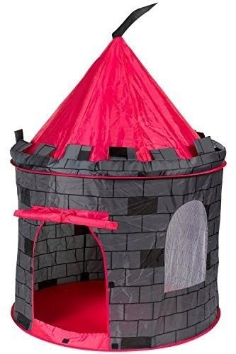 Knight Castle Prince House Kids Play Tent by POCO DIVO < Lightweight and portable with a zipper carry bag - Easy to clean with soft cloth, cold water & soap > (Yugioh Number 51 compare prices)