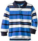 Tommy Hilfiger Little Boys Long Sleeve Leroy Stripe Polo