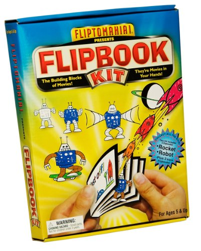 Flipbook Kit Rocket Robot